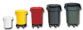 Rubbermaid Brute Containers And Rubbermaid Plastic Garbage Cans