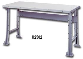 Deluxe Industrial Work Benches By Lyons With Fixed Legs