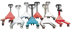 Galvanized Chrome And Zinc Pallet Jacks