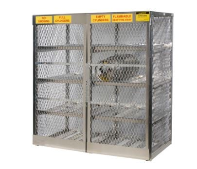 Horizontal Storage Cylinder Cabinet  sc 1 st  A Plus Warehouse & Cylinder Cabinets | Flammable Material Cabinets | Cabinets