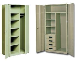 Deluxe Metal Wardrobe Cabinets