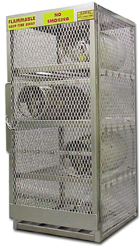 Deluxe Aluminum Horizontal And Vertical Cylinder Cabinets