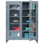 See Through KingCab Heavy Duty Storage Cabinet