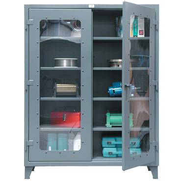 See Through Kingcab Heavy Duty Storage Cabinet  sc 1 st  A Plus Warehouse & Security Cabinets Locking Cabinets for Safe Storage