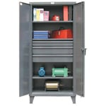 KingCab Storage Cabinet With Drawers