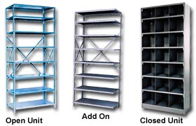 Quick Adjusting Shelving
