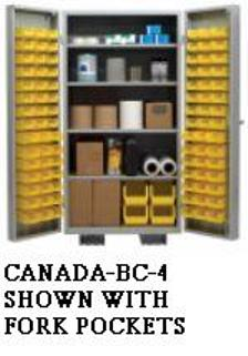 Canada Stock Bin Cabinets With 96 Bins