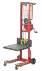 Lightweight Winch Stacker Lift