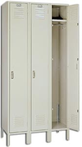 Genuine Lyon Single Tier Lockers