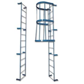 Heavy Duty Fixed Steel Ladders   Standard Style