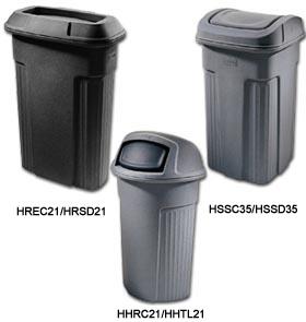 Waste handling warehouse garbage tilt trucks - Slimline waste bin ...