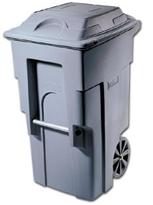 Mobile Two Wheel Refuse Container