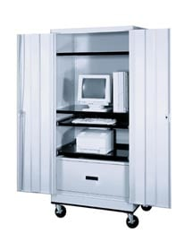 Economy Mobile Computer Cabinet