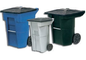 Condominium Style Centralized Refuse Containers