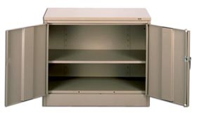 Unassembled Counter High Cabinets