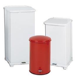Step On Moving Lid Refuse Container