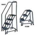 Safety Ladders With Spring Loaded Casters