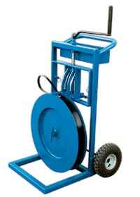 Vertical Horizontal Strapping Cart