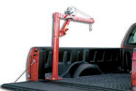 Winch Operated Truck Jib