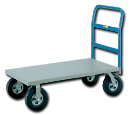 Economy Metal Puncture Proof Cushion Load Platform Trucks