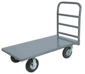 Economy Heavy Duty Rugged Steel Deck Platform Truck