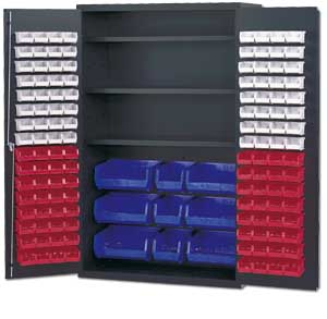 Economy Bin And Shelf Storage Cabinets