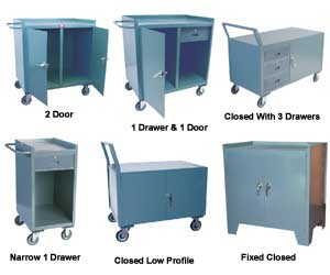 Heavy Duty Mobile And Stationary Industrial Cabinets
