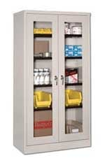 Qualcab See Through Storage Cabinets