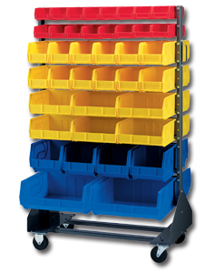 Lewis Plastic Bin Rack