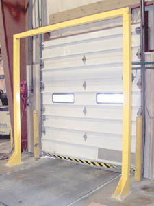 Economical Overhead Door Warning Barrier