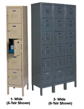 5 And 6 Tier Lockers