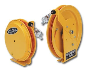 Ez Coil Safety Series Static Discharge Cable Reels
