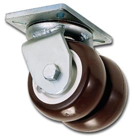 Heavy Duty Dual Wheel Caster