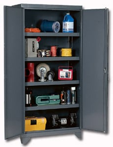Economy Heavy Duty Metal Set Up Cabinets