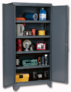 heavy duty metal cabinets | storage cabinets | warehouse