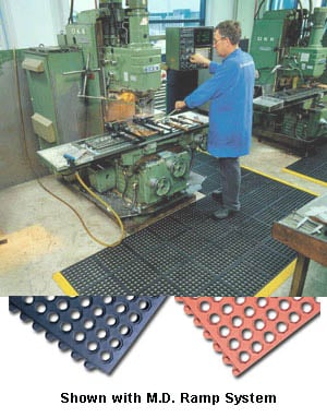 Interlocking Grease Resistant Anti Fatigue Mat