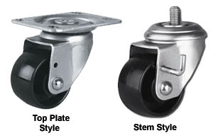 Medium Duty Low Level Swivel Casters