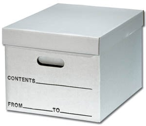 E Z Folding File Storage Boxes