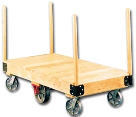 Four Stake Tilting Platform Truck