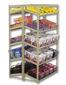 Sloping Shelving Units