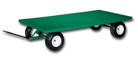 Large Wheel Trailer