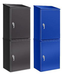 Stackable Welded Metal Lockers