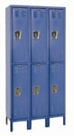 Double Tier School metal lockers