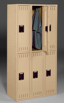 Double Tier Locker Without Legs