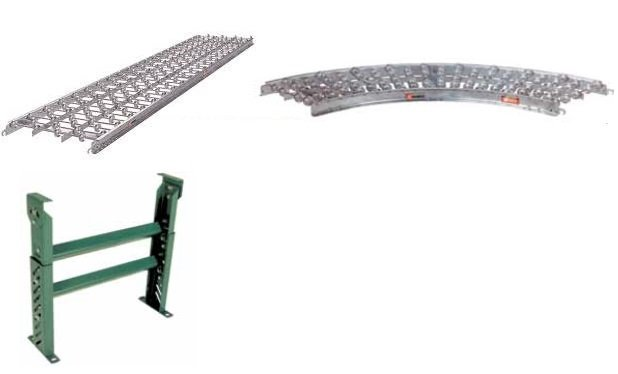 30 in wide skate wheel conveyor