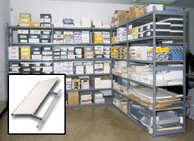 Super Duty Steel Edge Shelving