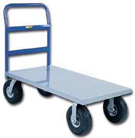 Deluxe Metal Cushion Load Platform Truck
