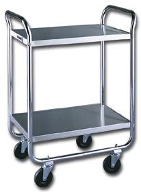 Tubular Stainless Steel Shelf Truck