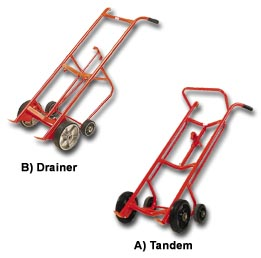 The Tandem And Drainer Drum Truck