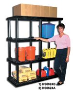 Dura Shelf Plastic Bulk Shelving